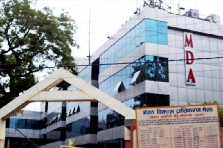 मेरठ विकास प्राधिकरण की कार्रवाई, रामकुंज पर लगाई सील