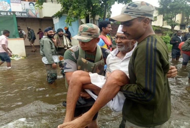 बारिश की तबाही से रायगढ़ में पांच की मौत 30 लापता