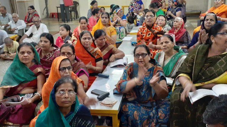 जैन मंदिर में हुआ 48 दिवसीय भक्ताम्भर पाठ का समापन